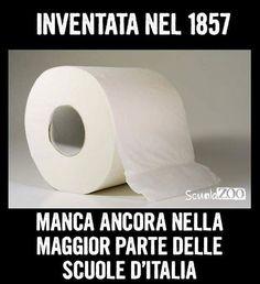 #laverascuola #Questascuolamidistrugge #cartaigienica #ScuolaZoo