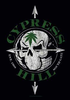 Cypress Hill - Vintage Skull