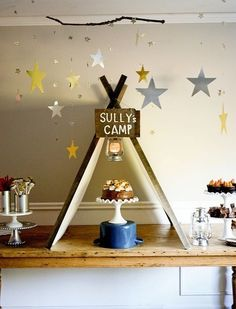 Camping Party Theme - Adorable First Birthday Party Ideas - Photos