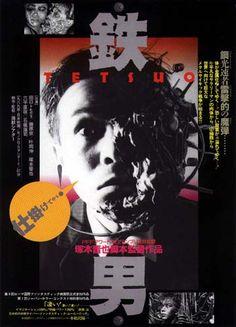 Tetsuo (1989). Una pelicula de Shinya Tsukamoto, considerada un punto de inflexión en la cinematografía japonesa, ya que su estética ha sido seguida y evolucionada posteriormente por películas clásicas del género que han trascendido fronteras y se han hecho famosas en todo el mundo.