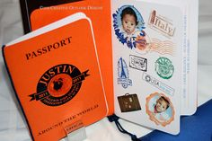 Adorable Passports by creativeoutlookdesigns.com