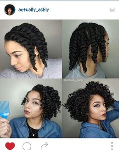 ·Started on wet hair ·Made 9 flat twists ·Let hair air dry ·Unravelled and fluffed roots That's it! Product Used- fortifydnaturals