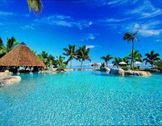 Fiji...went there in 2004 and Id love to go back for my honeymoon!!!