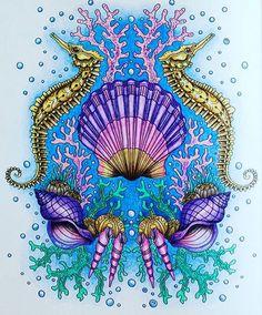 Bom dia pessoal ❤️ Colorido inspirador do dia @zuzka.hanova ... ... #drawing…