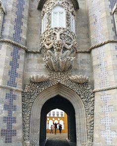 #tile #penanationalpalace #gothicarchitecture #picodeviaje