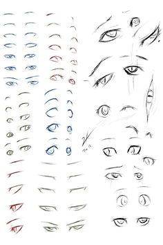 Marvelous Learn To Draw Manga Ideas. Exquisite Learn To Draw Manga Ideas. How To Draw Anime Eyes, Manga Eyes, Manga Drawing Tutorials, Drawing Tips, Drawing Hair, Drawing Faces, Painting Tutorials, Painting Techniques, Anime Eyes Drawing