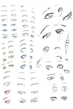 Tutoriel - Dessiner des yeux mangas en quelques étapes