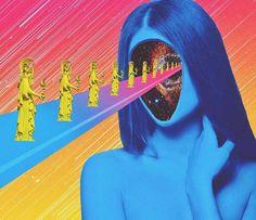 Inspiração: Conheça as criações psicodélicas de Justin Mays