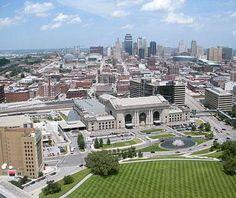 Kansas City, Missouri // Beautiful U.S. Skylines
