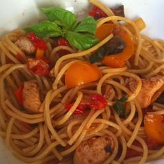 Chicken Pasta with vegetables