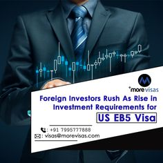 It is no mystery that the publication of a new law dealing with the EB-5 investor visa in the United States. Every year around 10,000 visas are announced to investor immigrants along with their families depends on the principal applicants have invested below the program and produced not less than ten jobs.  #USImmigration #MigratetoUS #USWorkPermitVisa #USEB5Program #MoreVisas New Law, Investors, Families, Mystery, Public, United States, Usa, U.s. States, Households