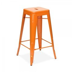 539.00$  Buy here - http://alixmm.worldwells.pw/go.php?t=32237612976 - Free Shipping European Style 75cm Powder Coated Stool Orange 539.00$