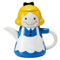 """Decole - tea-for-one set """"Alice in Wonderland"""" -- really want this!"""