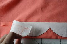 Hetterson: costura tutorial Mensal ~ O (EPIC) vieira -------- Epic Scallop Tutorial Techniques Couture, Sewing Techniques, Sewing Art, Sewing Crafts, Sewing Clothes, Diy Clothes, Sewing Hacks, Sewing Tutorials, Crochet Projects