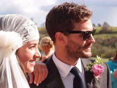 Jamie Dornan and Amelia Warner wedding