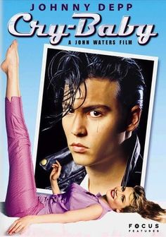"Cry-Baby (1990)     Helmed by director John Waters, this kitschy comedy set in 1950s Baltimore stars Johnny Depp as Wade ""Cry-Baby"" Walker, a street tough who falls for a goody-two-shoes girl. The unlikely romance sparks a battle between rival factions."