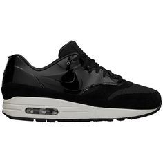 Nike Air Max 1 VT QS Women's Shoe (€165) ❤ liked on Polyvore featuring shoes, athletic shoes, sneakers, nike, light weight shoes, leather athletic shoes, leather shoes and leather footwear