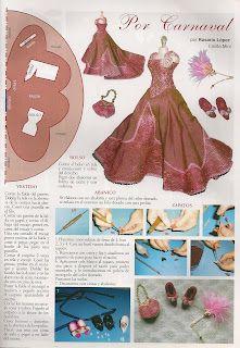 Miniature Dolls, Dollhouse Miniatures, Barbie, Disney Princess, Disney Characters, Blog, Google Search, Dress, Carnival