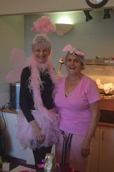 Some fantastic outfits at Alda's Breakfast! Fundraising, Your Photos, Ribbon, Breakfast, Pink, Outfits, Fashion, Tape, Morning Coffee