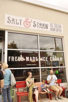 Favorite Portland Ice Cream Spot - Salt & Straw Ice Cream