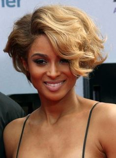 Best Short Natural Curly Bob Hairstyle for African American