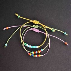 Beaded Friendship Bracelets DIY