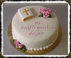 Bildresultat för konfirmation tårta