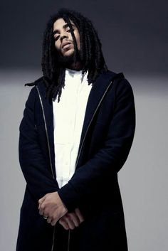 Skip Marley Skip Marley, Bob Marley, Most Beautiful Man, Beautiful People, Stephen Marley, Dreadlocks Men, Marley Family, Dreadlock Styles, Hip Hop And R&b