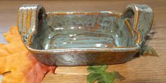Ceramic Bakeware Stoneware Server Hand by WildCrowFarmPottery, $23.00