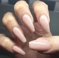 Gorgeous nude nails <3 Learn how to treat your nails like a pro on YouQueen.com