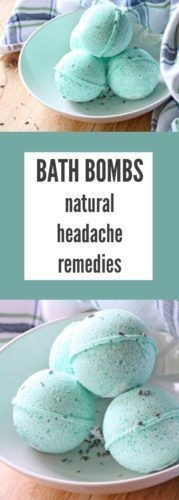 Are you searching for natural headache remedies that work? Try making these soothing DIY bath bombs to wash your head tension away!