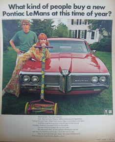 NEW ADDITION: 1969 Pontiac LeMans Ad.