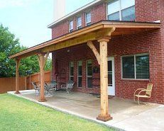 Big Free Standing Wood Patio Covers