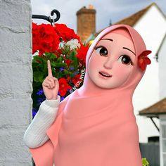 Grilling gift ideas [for men and women] Cute Couple Cartoon, Girl Cartoon, Cartoon Art, Cute Girl Photo, Cute Baby Girl, Cute Girls, Love Wallpaper Backgrounds, Human Sketch, Hijab Drawing