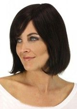 Beautiful Silky Straight 12Inch Remy Human Hair Full Lace Wig