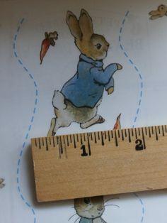 5 Sheets Beatrix Potter Peter Rabbit Hopping by MendozamVintage