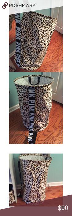Victoria's Secret leopard hamper Never used PINK Victoria's Secret Other