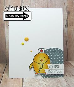 | Hollybeary Creations, The Alley Way Stamps, TAWS, cards, clear stamps, Penguins on Parade