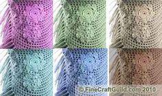 Spring Flower Shawl – Simple Free Crochet Pattern