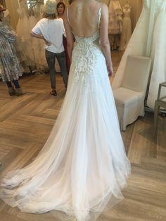 Haley Paige backless wedding dress