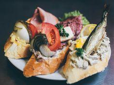 Prague Open-Face Sandwich