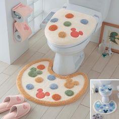 トイレの蓋カバ&ラグ