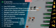 Download Cleanto v1.6 - appointment booking system Nulled Latest Version