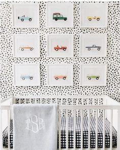 New Baby Boy Room Wallpaper Black White 46 Ideas Baby Room Art, Baby Bedroom, Baby Boy Rooms, Baby Boy Nurseries, Baby Room Decor, Nursery Room, Kids Bedroom, Nursery Decor, Kids Rooms