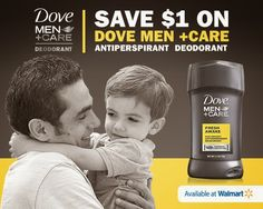 Dove Men+Care $1 Off Coupon
