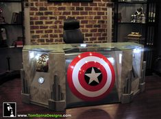 advertise here  	        Home      Apps      Design      Entertainment      Geek      Interviews      Lifestyle      Social Media      Technology    Become A Superhero With The Custom Built Avengers Office Desk