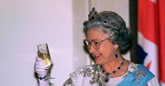 According toEsquire UK the monarch is a pretty impressive day drinker so much so that by UK government standards she's technically a binge-drinker (same to be honest).  She gets started right before lunch enjoying a gin and Dubonnet (a wine-based liqueur) with lemon and lots of ice then a glass of wine with her meal. A few hours later she has a dry martini followed by a glass of Champagne in the evening (there are eight different Champagne producers at the palace including Bollinger Krug…
