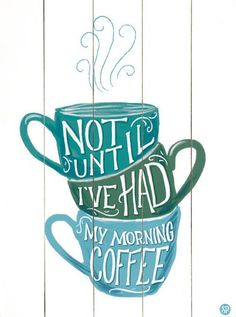 Morning Coffee Wall Decor