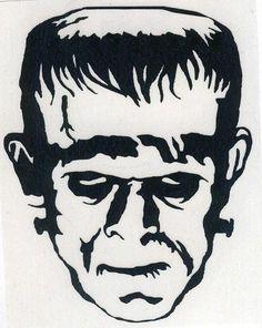 Vinyl Decals: Frankenstein's Monster