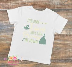 Step aside Tiana there's a new princess in town, Disney trip, Tiana, Princess, Disney vacation, Princess shirt, Girls tee by LittleAsBowtique on Etsy
